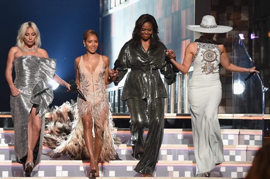 Michelle Obama idole des stars et des paillettes