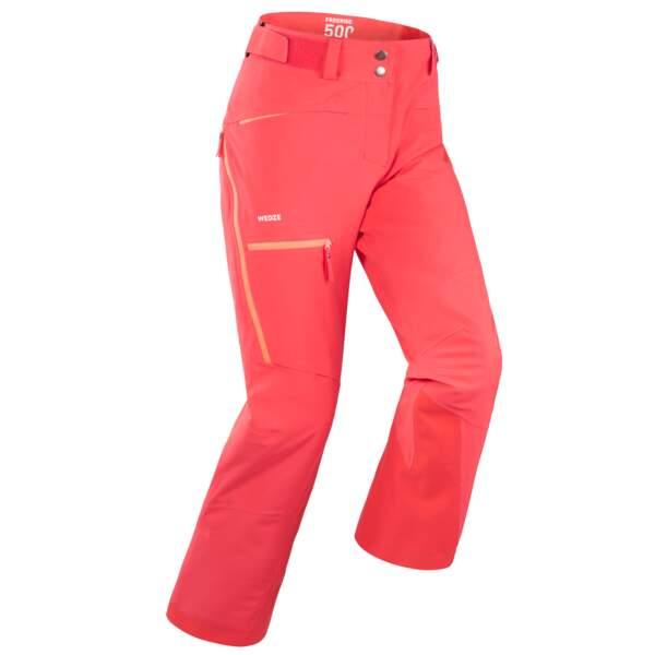 Pantalon de ski, Wedze chez Decathlon, 60 €