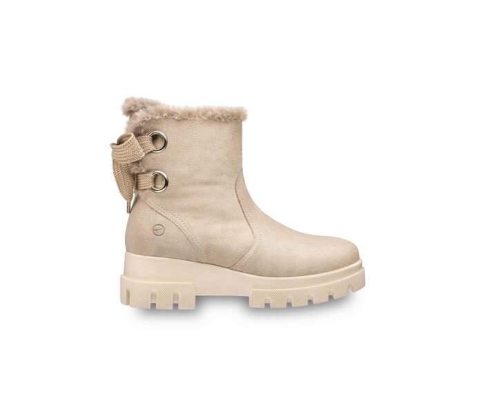 Boots en suede, Tamaris, 99,95 €