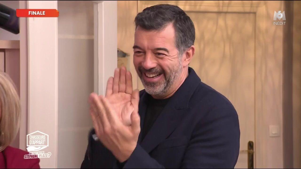 VIDEO Chasseurs d'appart' : Stéphane Plaza (encore) vainqueur, son hurlement de joie!