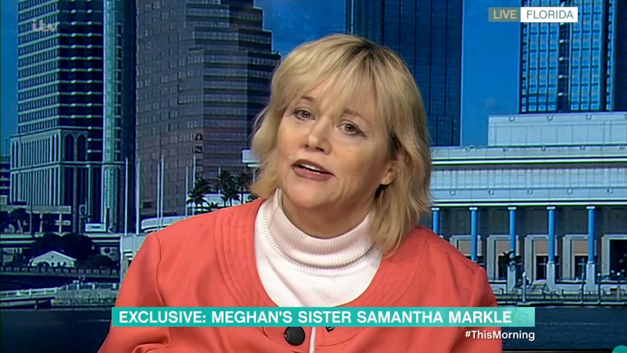 Meghan Markle : sa demi-sœur Samantha dévoile les raisons de son départ du Royaume-Uni