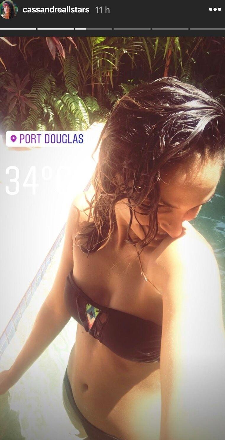 PHOTO Koh-Lanta : Cassandre pose en bikini léopard et affole la Toile