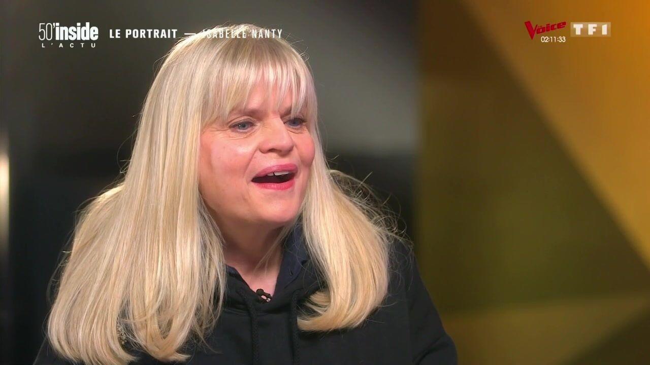 Isabelle Nanty sous le charme de Johnny Hallyday, elle raconte un tendre souvenir