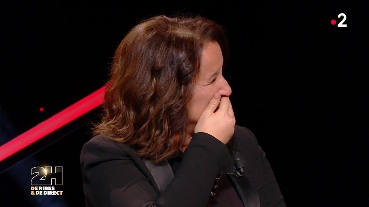 VIDEO Anne Roumanoff dérape et fait une grosse bourde sur le divorce de Vincent Lagaf'