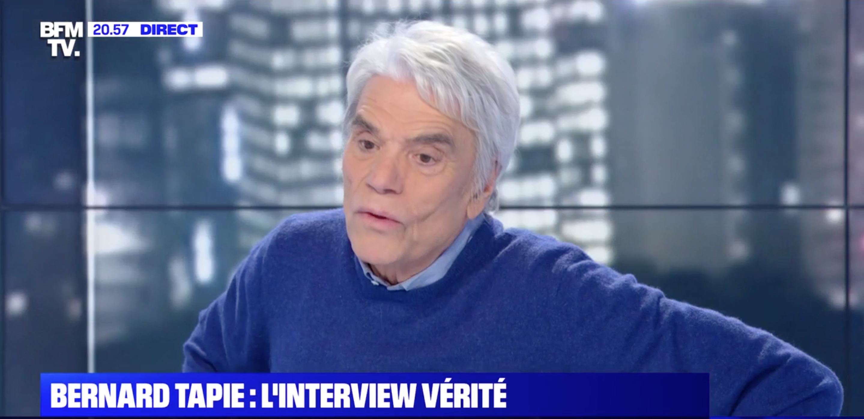 VIDEO Bernard Tapie tacle violemment Mediapart