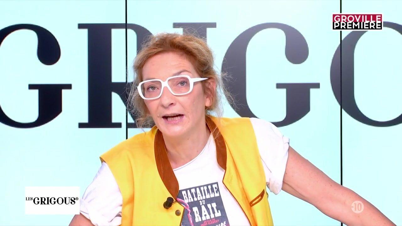 VIDEO Corinne Masiero déchaînée : elle montre ses seins à la télévision
