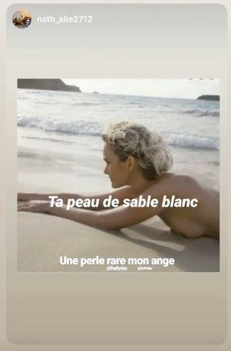PHOTOS Laeticia Hallyday nue sur une plage, elle en dévoile presque trop