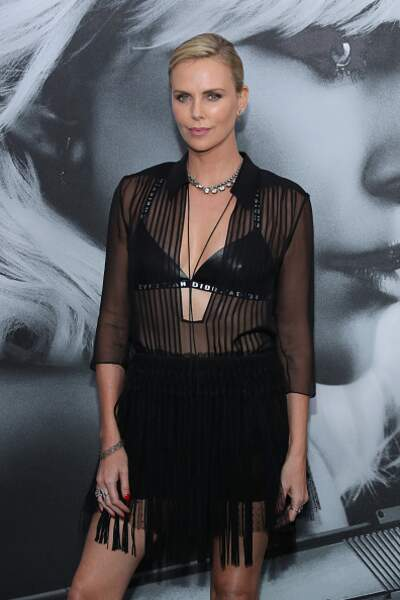 Battle mode Scandale : Charlize Theron