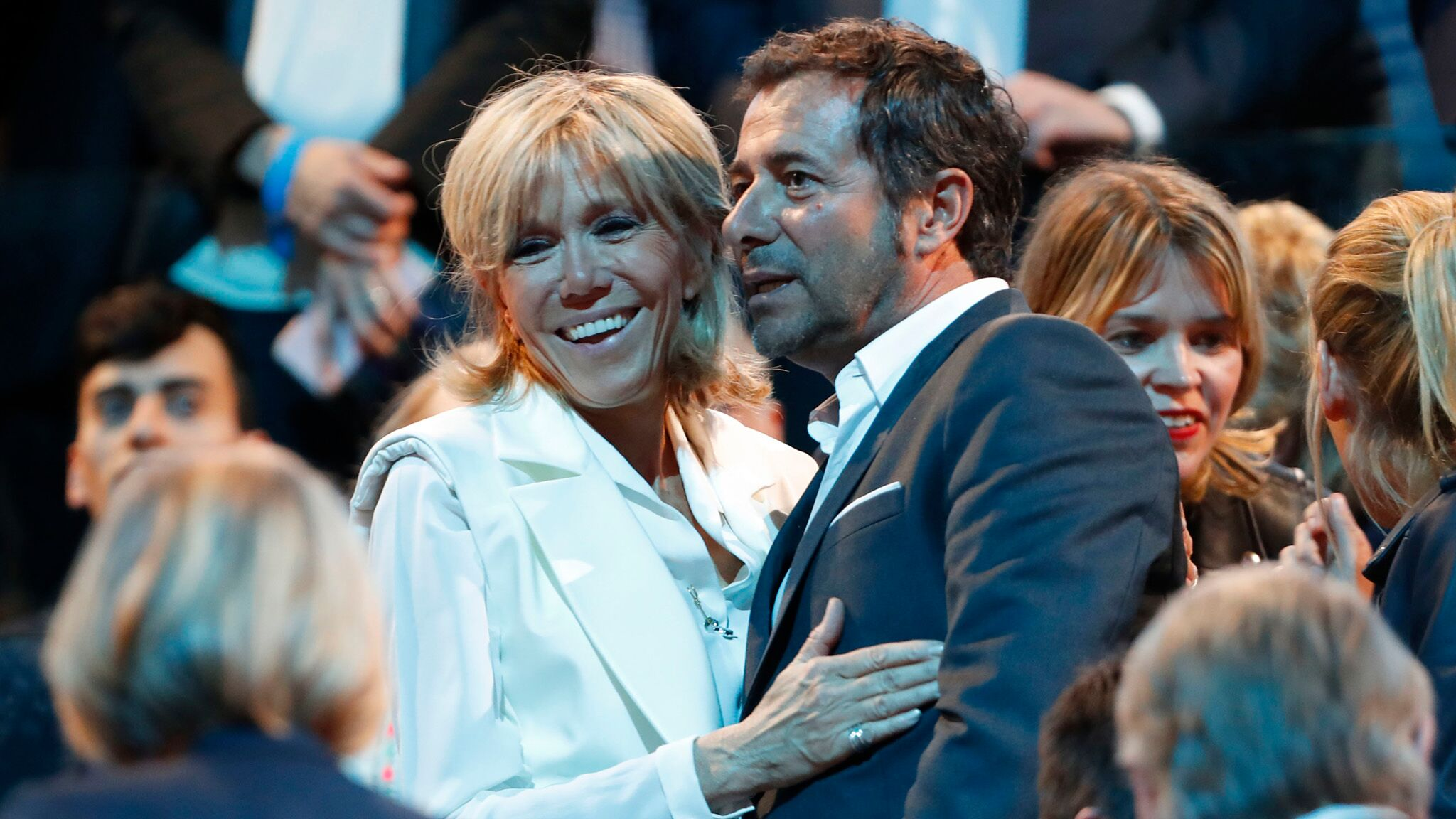 Brigitte Macron Cette Surprenante Soiree Qu Elle A Passee Avec Bernard Montiel Voici