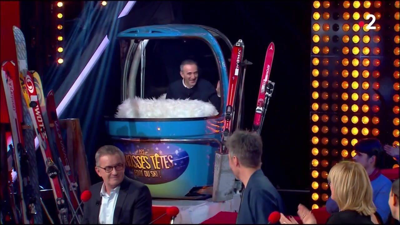 VIDEO Les grosses têtes : Christophe Dechavanne refuse de saluer Elie Semoun