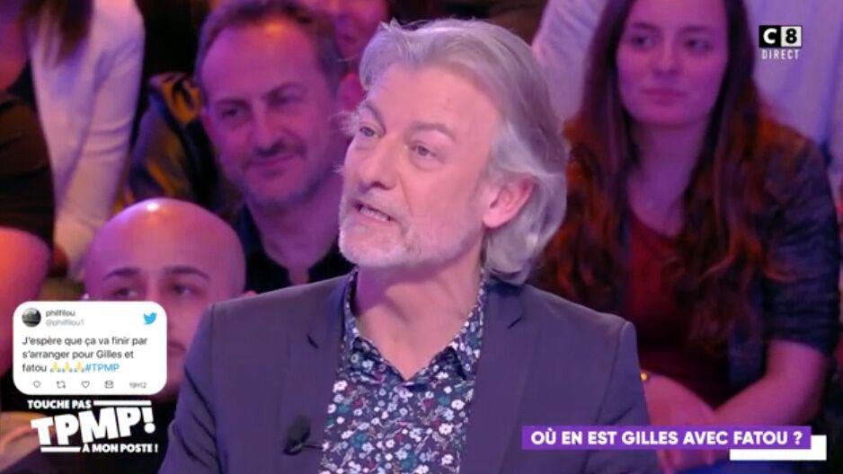 VIDEO TPMP : Gilles Verdez s'est-il enfin réconcilié avec Fatou après son baiser avec Isabelle Morini-Bosc?