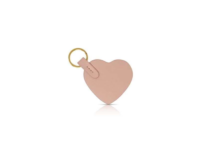 Porte clés coeur, Louvreuse, 20 €