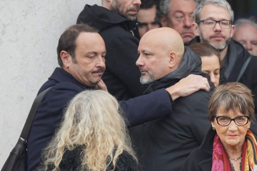 Obsèques de Sébastien Demorand : Vincent Ferniot et le chef Frédéric Anton