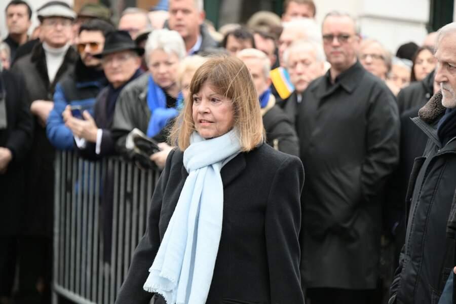 Obsèques de Michou : Chantal Goya