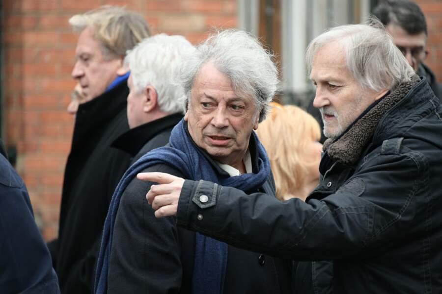 Obsèques de Michou : Hervé Vilard et Jean-Jacques Debout