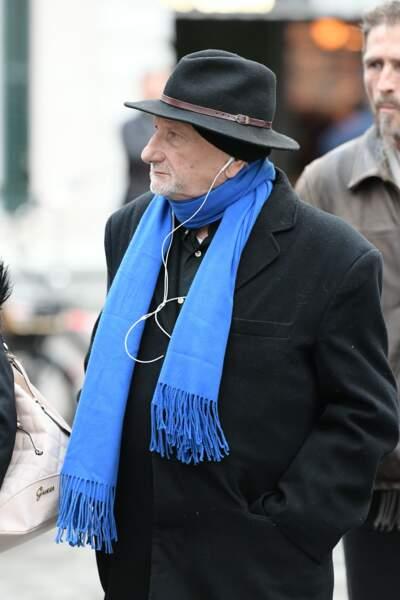 Obsèques de Michou à Paris : Thomas Valentin