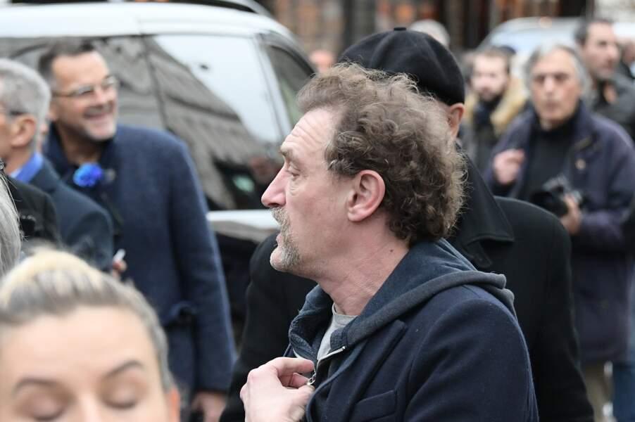 Obsèques de Michou à Paris : Jean-Paul Rouve