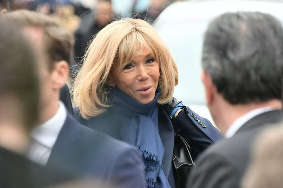 Obsèques de Michou à Paris : Brigitte Macron