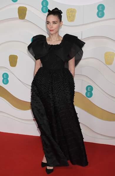 Rooney Mara en robe Givenchy