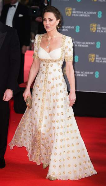 Kate Middleton en robe Alexander McQueen