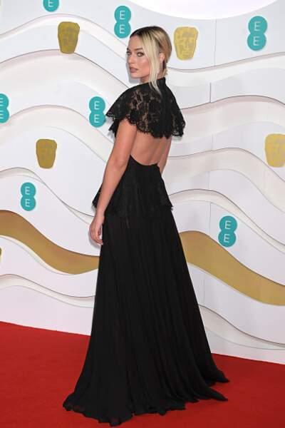 Margot Robbie dans sa somptueuse robe Chanel