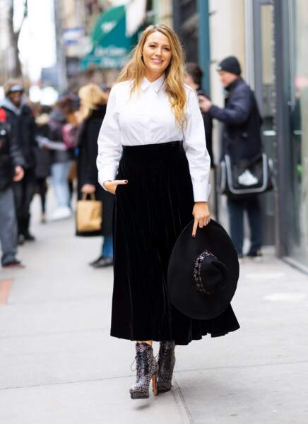 Blake Lively, le 27 janvier 2020 à New York