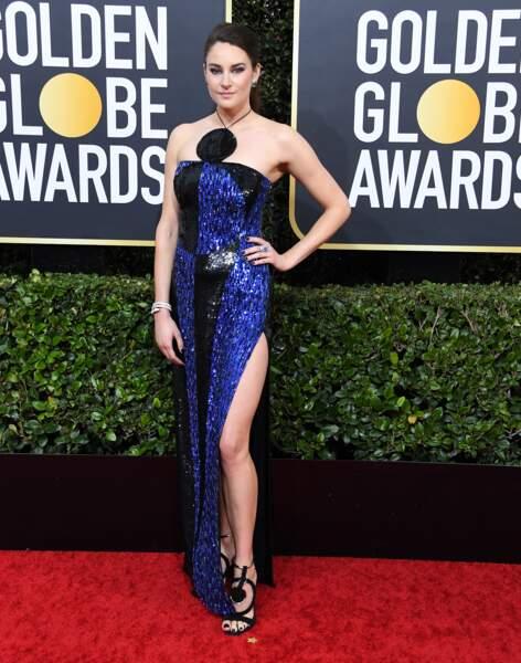 Don't : Shailene Woodley a trouvé une jolie robe Balmain, mais il semble manquer quelque chose...