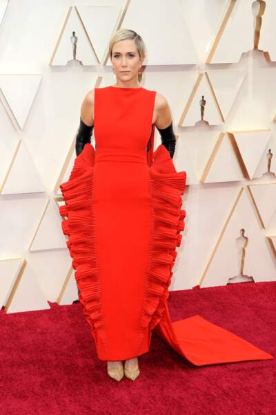 Don't : Kristen Wiig et sa robe aux volumes mystérieux