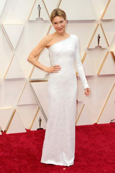 Do : Renee Zellweger et sa robe asymétrique