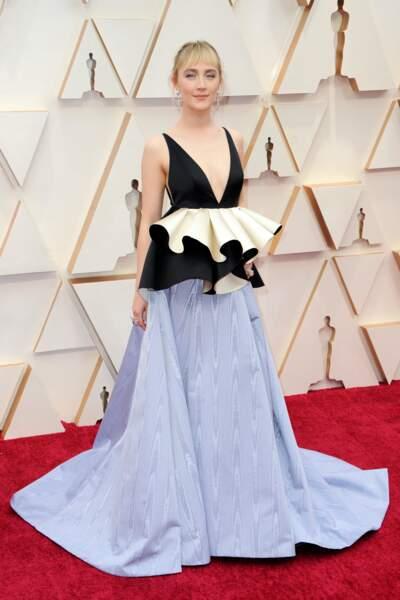 Don't : Saoirse Ronan dans une robe plutôt atypique signée Gucci