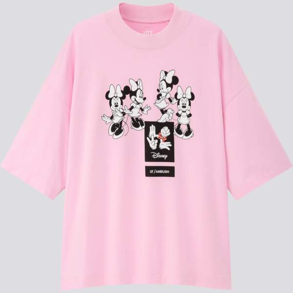 Uniqlo présente sa nouvelle collection : UT LOVE MINNIE Par AMBUSH