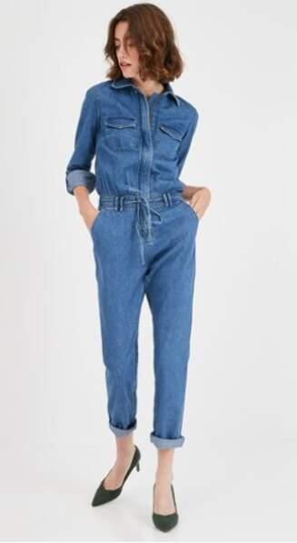 Combinaison en jean, Promod, 49,95€