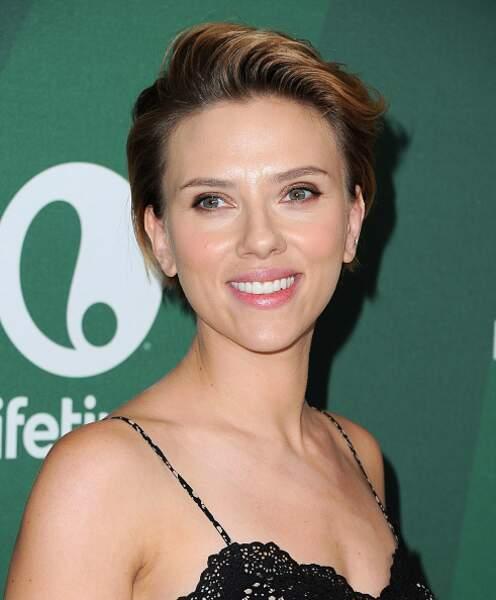 Scarlett Johansson avait elle aussi déjà osé la coupe garçonne