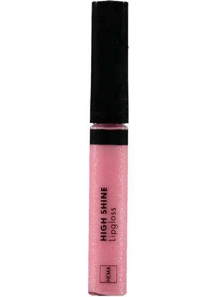 Gloss à lèvres high shine, Hema, 3,50€