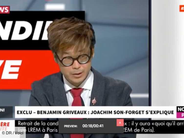 VIDEO Scandale Benjamin Griveaux : Joachim Son-Forget fait une troublante révélation - Voici