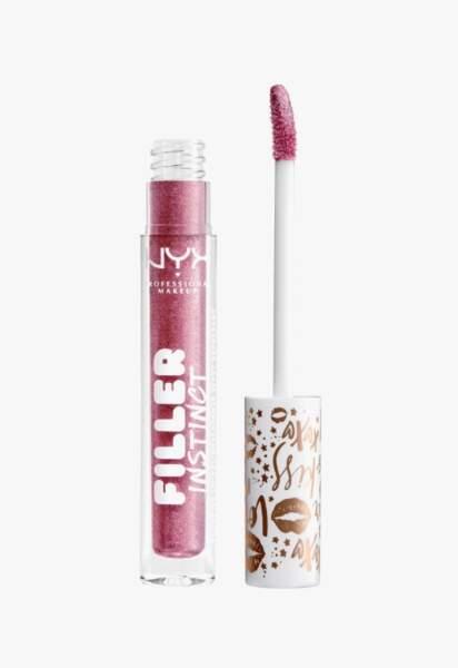 Vernis à lèvres Filler Instinct, NYX Professional Makeup, 6,90€
