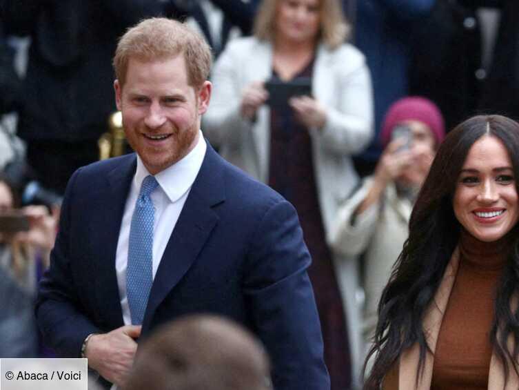 Harry et Meghan : les premières photos du couple depuis le Megxit dévoilées - Voici