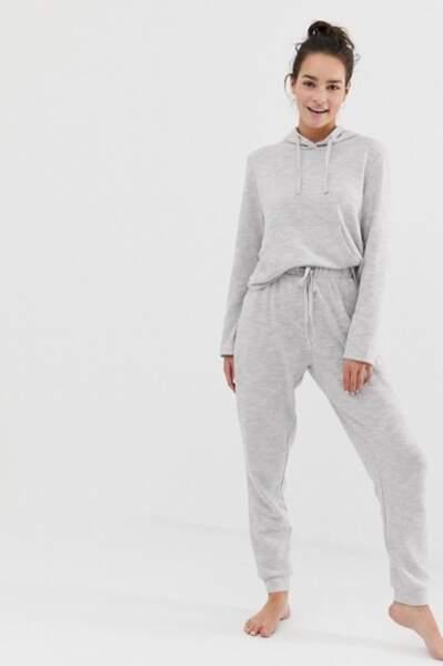 Ensemble confort hoodie et jogger, Asos Design, 29,99€