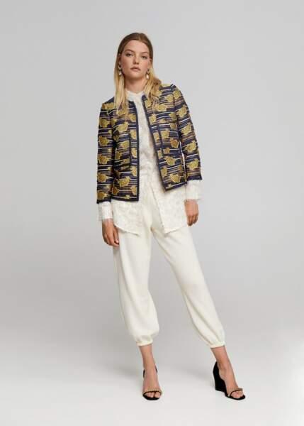 Pantalon de jogging poches, Leandra x Mango, 19,99€