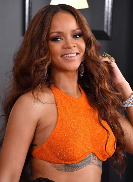 Rihanna toujours aussi fan du orange