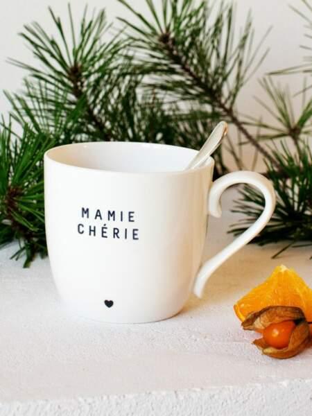 Le mug Mamie chérie, Emoi Emoi, 20€