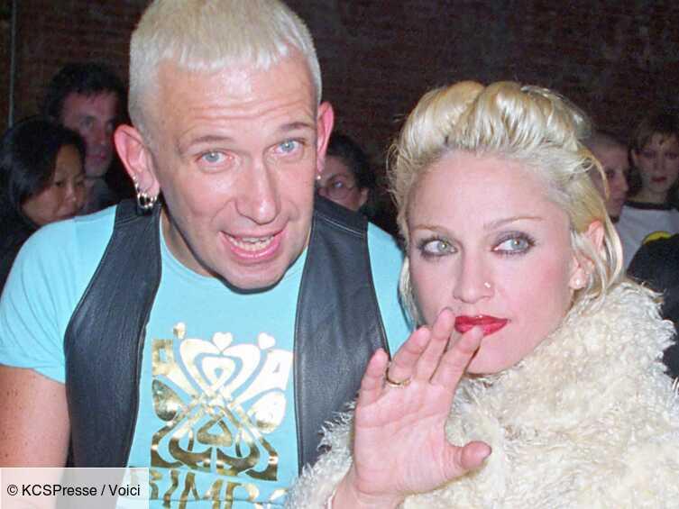 Madonna : en concert à Paris, elle retrouve son ami Jean-Paul Gaultier - Voici
