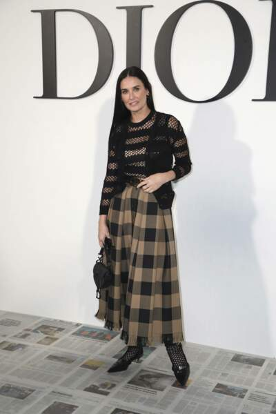 Fashion Week - Courteney Cox au défilé Dior automne-hiver 2020/2021