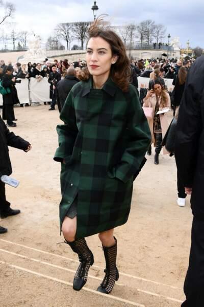 Fashion Week - Alexa Chung au défilé Dior automne-hiver 2020/2021