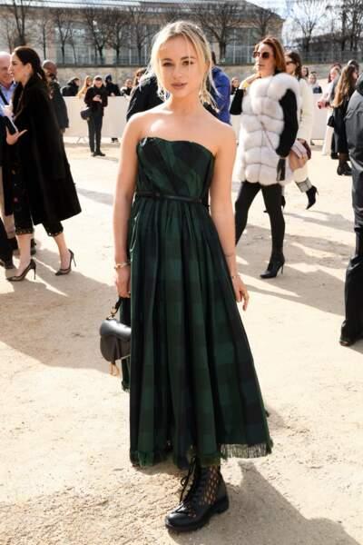 Fashion Week - Amelia Windsor au défilé Dior automne-hiver 2020/2021