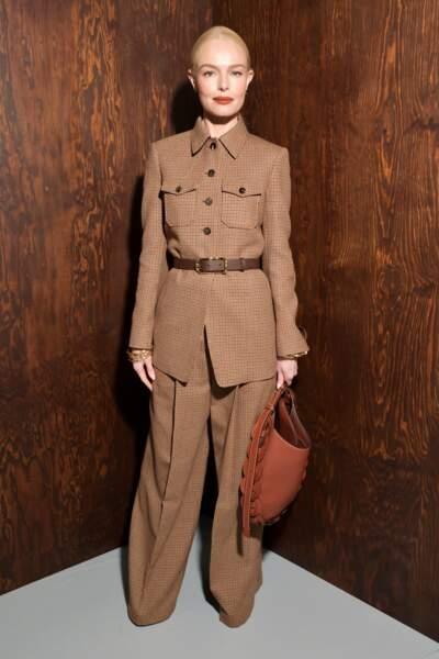 Fashion Week - Kate Bosworth au défilé Chloé automne-hiver 2020/2021