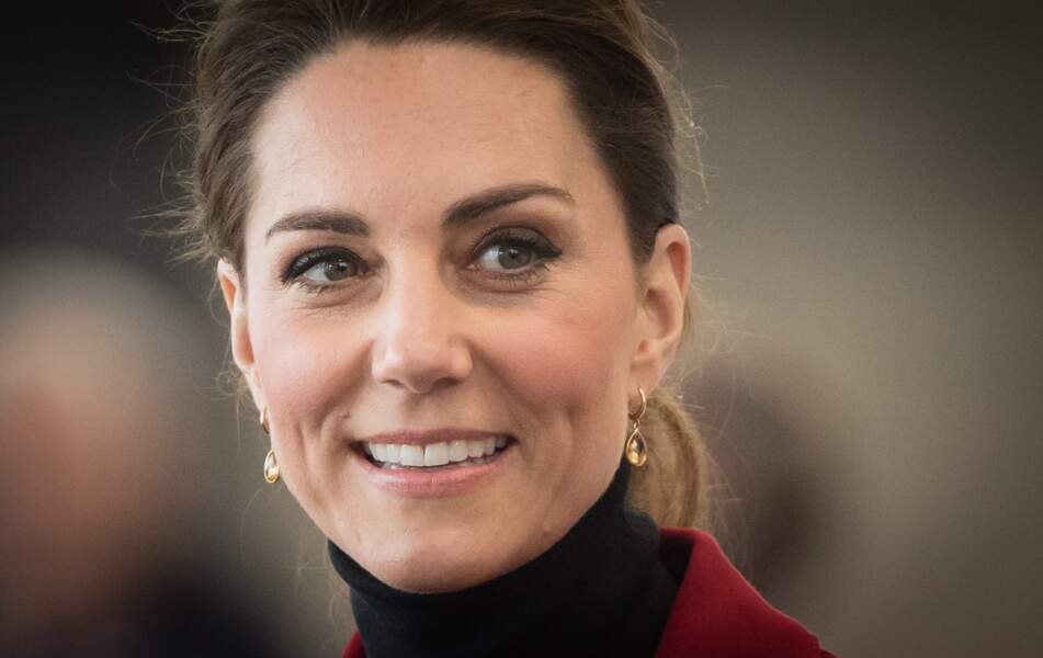 Kate Middleton assume ses quelques cheveux blancs