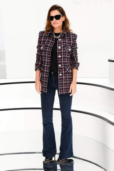 Fashion Week - Virginie Ledoyen aussi (défilé Chanel)