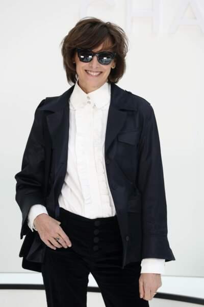Fashion Week - Ines de la Fressange était là pour découvrir la collection automne-hiver 2020/2021 de Chanel