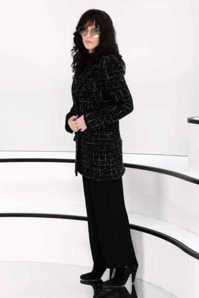Fashion Week - Isabelle Adjani était également au premier rang (défilé Chanel)